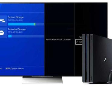 Οδηγός χρήσης εξωτερικού HDD σε PS4 / PS4 Pro