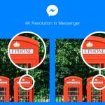 Αποστολή 4Κ φωτογραφιών επιτρέπει πλέον το Messenger